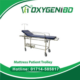 Mattress Patient Trolley with fixed mattress top